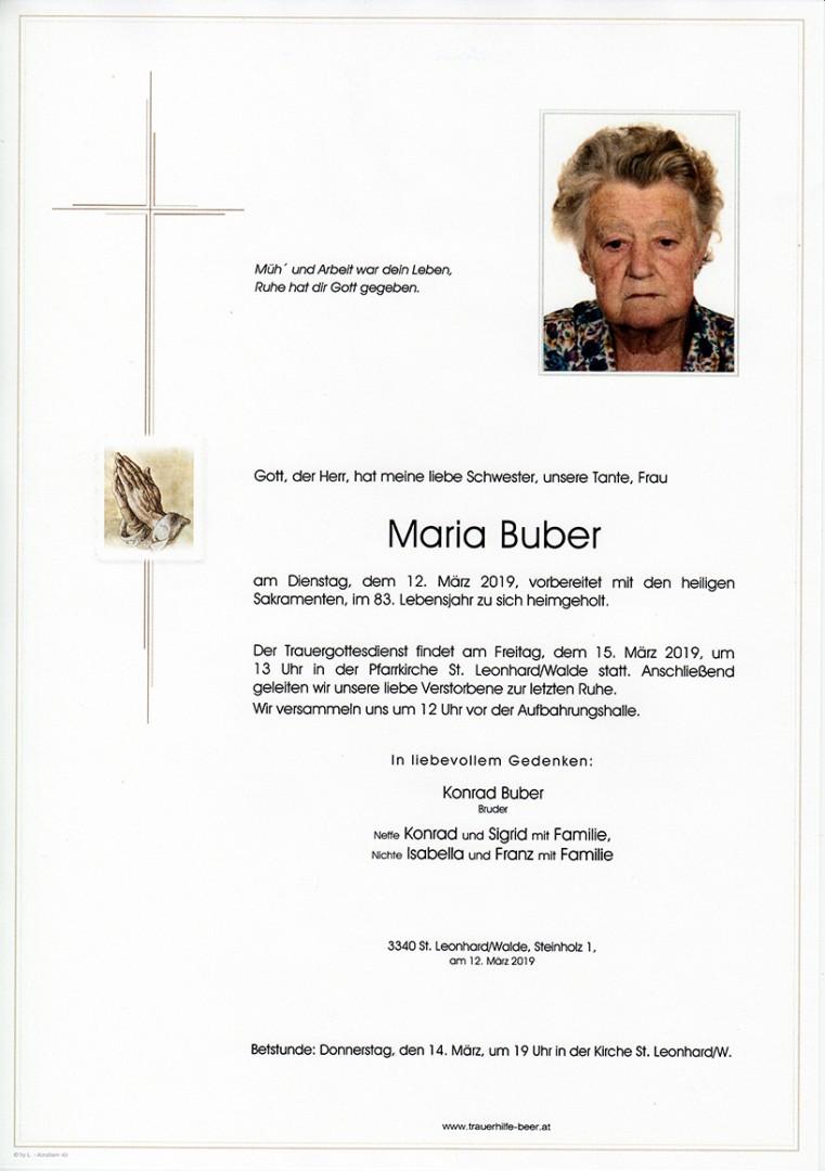Parte Maria Buber