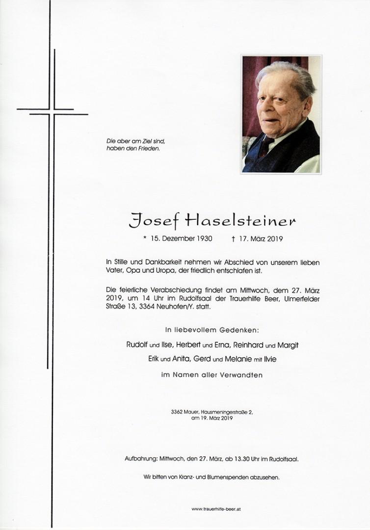 Parte Josef Haselsteiner