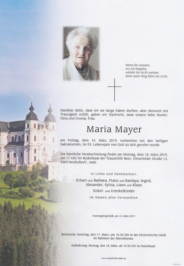 Parte Maria Mayer