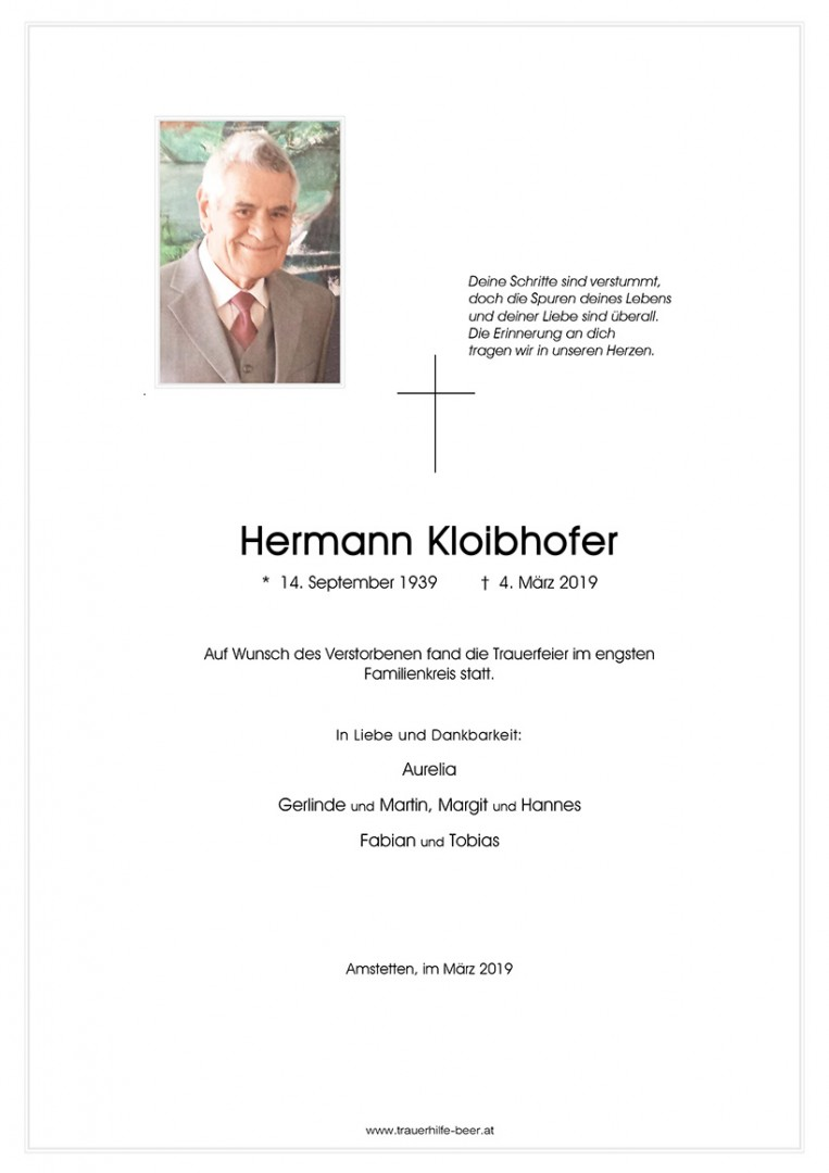 Parte Hermann Kloibhofer