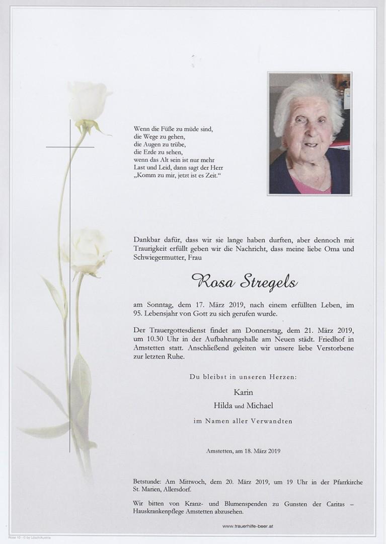 Parte Rosa Stregels