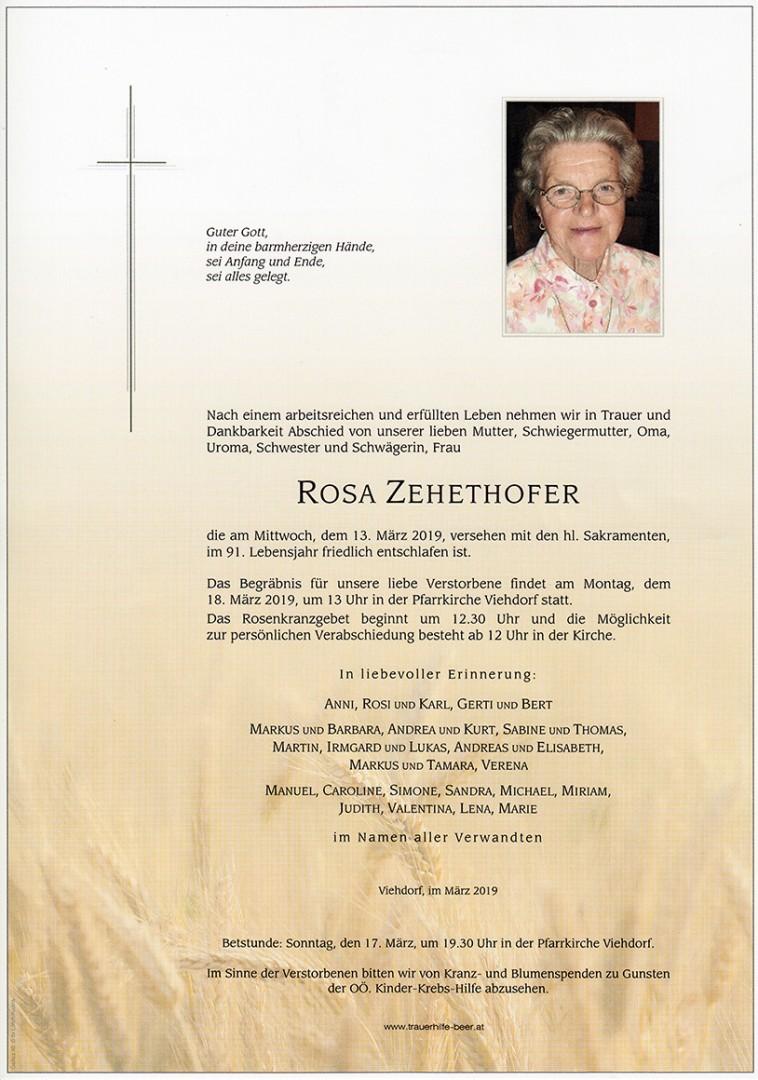 Parte Rosa Zehethofer