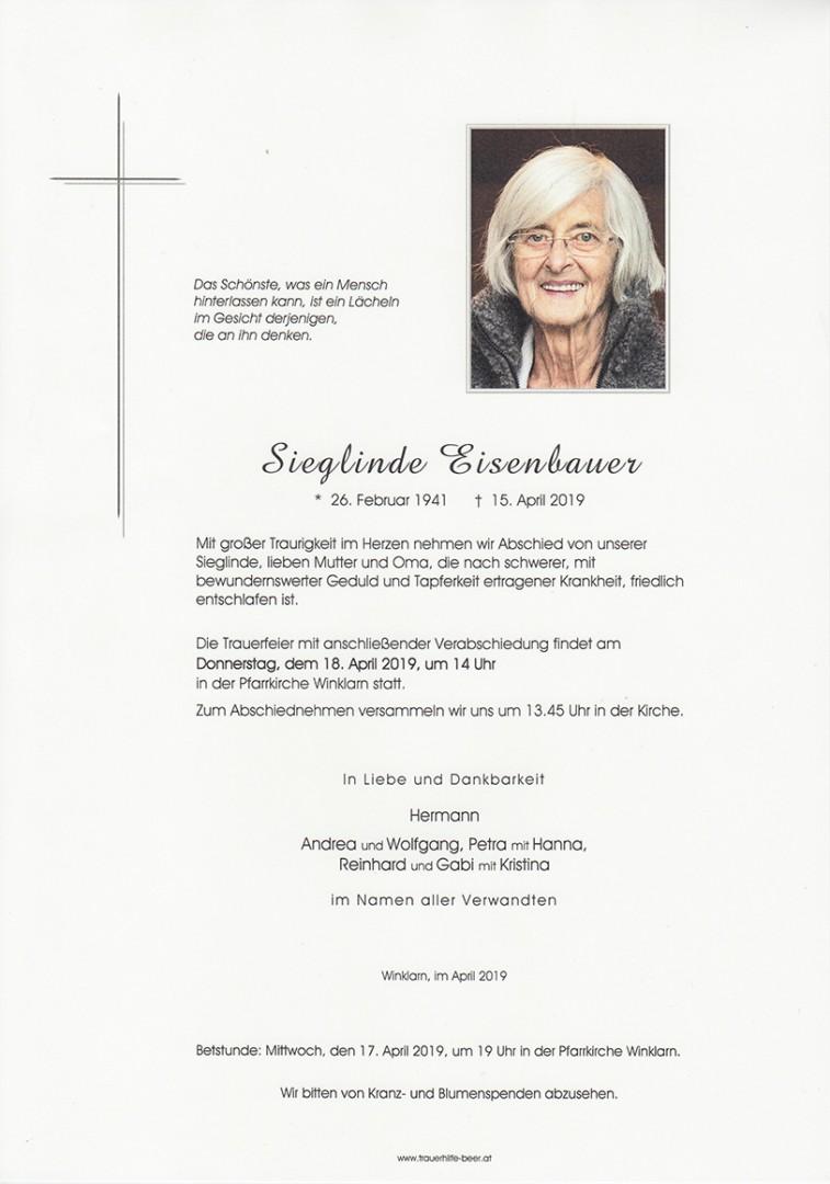Parte Sieglinde Eisenbauer