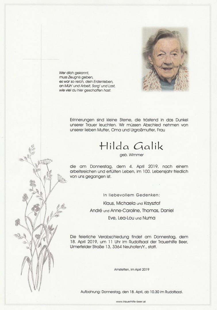 Parte Hilda Galik