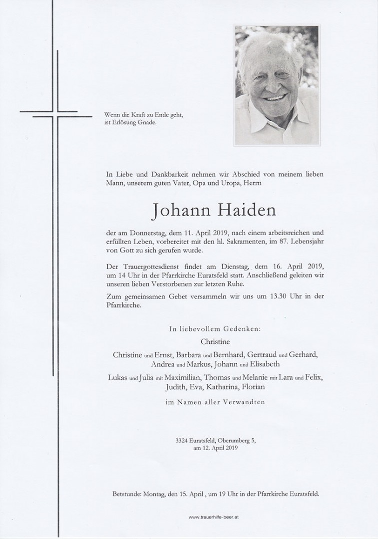 Parte Johann Haiden
