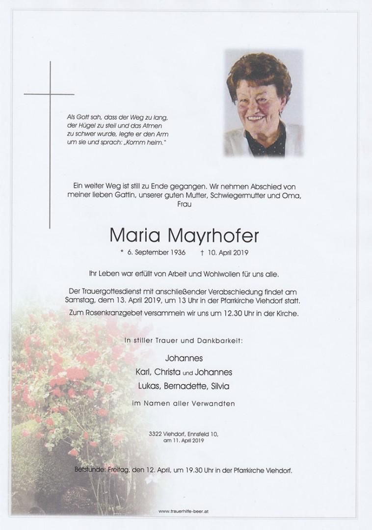 Parte Maria Mayrhofer