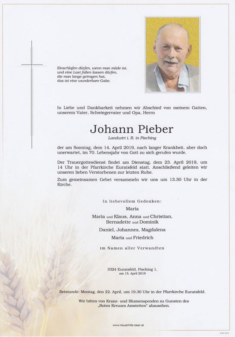 Parte Johann Pieber