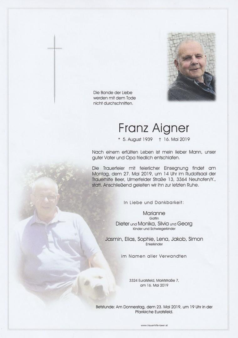 Parte Franz Aigner