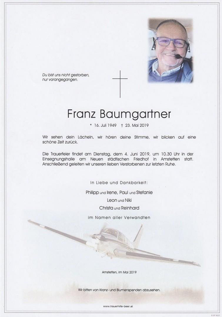 Parte Franz Baumgartner