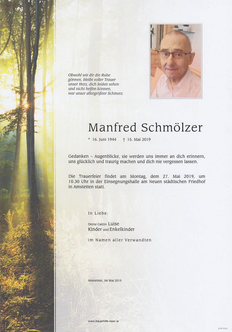 Parte Manfred Schmölzer