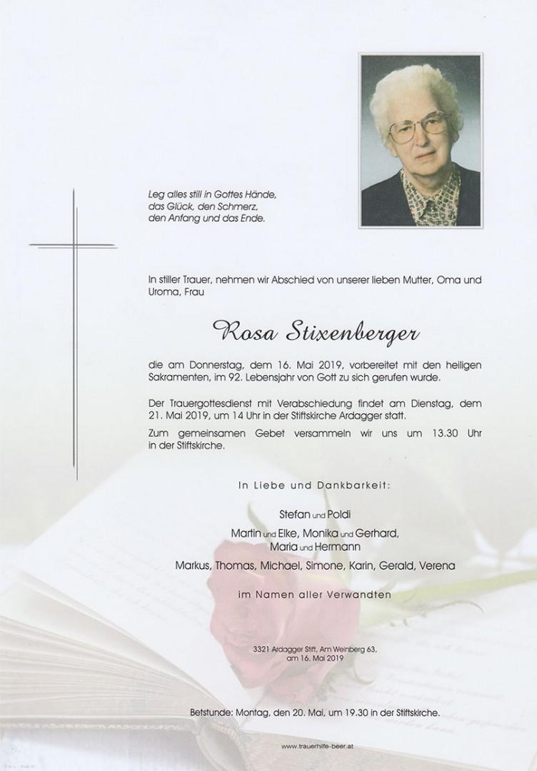 Parte Rosa Stixenberger