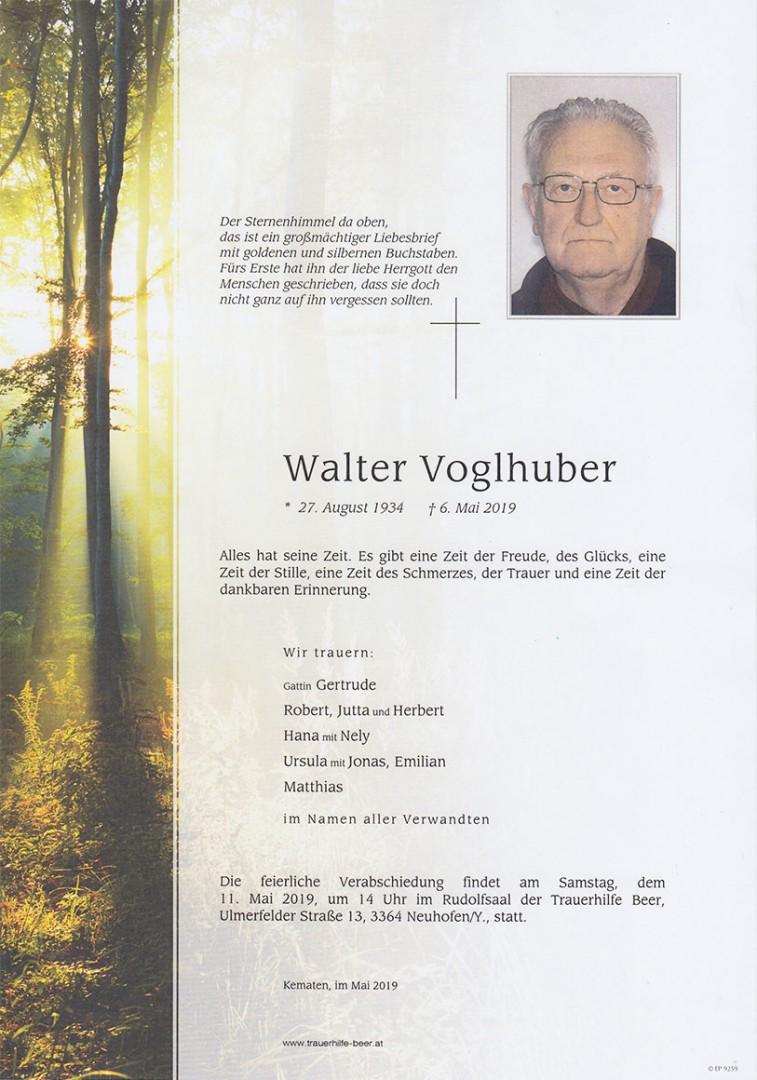 Parte Walter Voglhuber