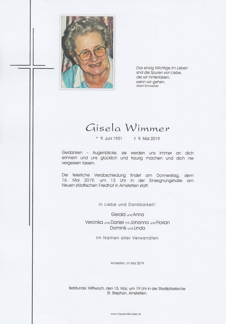 Parte Gisela Wimmer