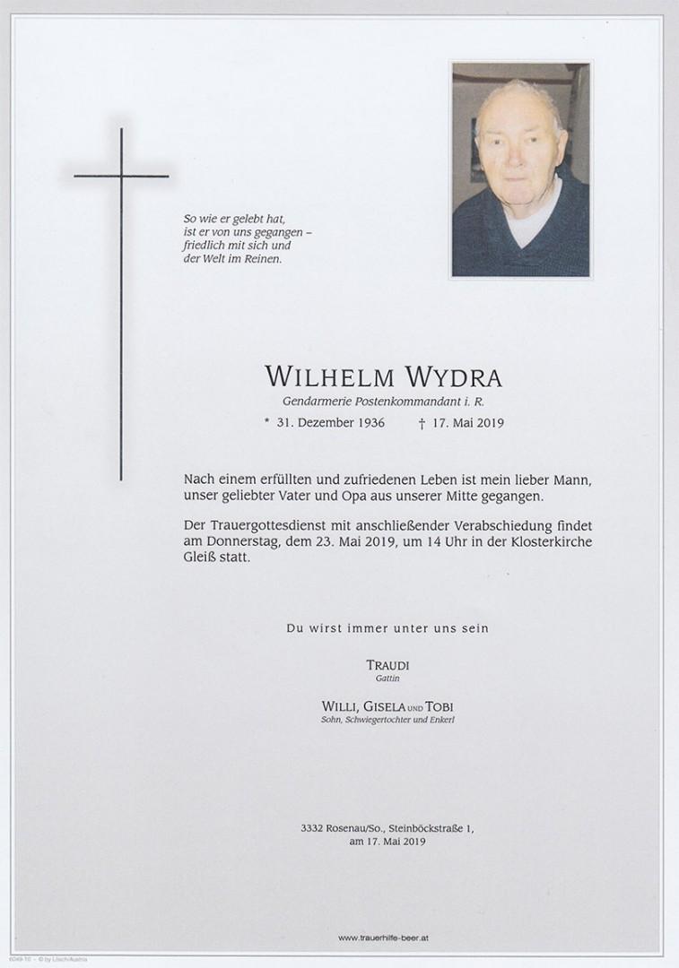 Parte Wilhelm Wydra