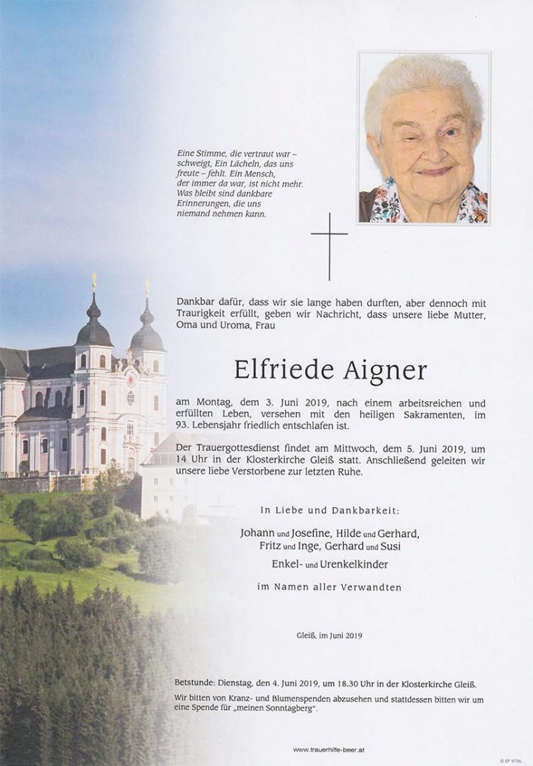 Parte Elfriede Aigner