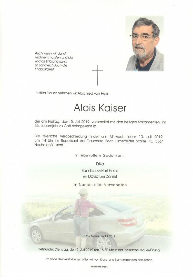 Parte Alois Kaiser