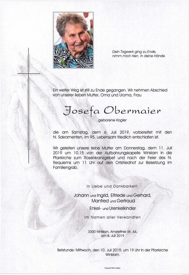 Parte Josefa Obermaier