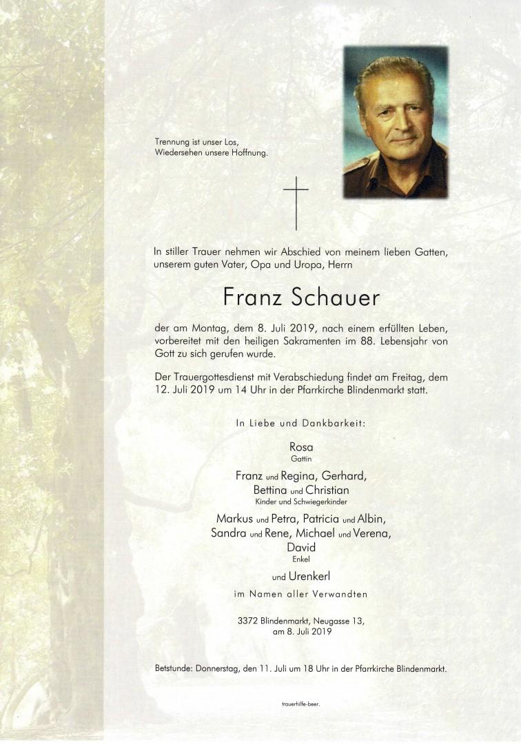 Parte Franz Schauer