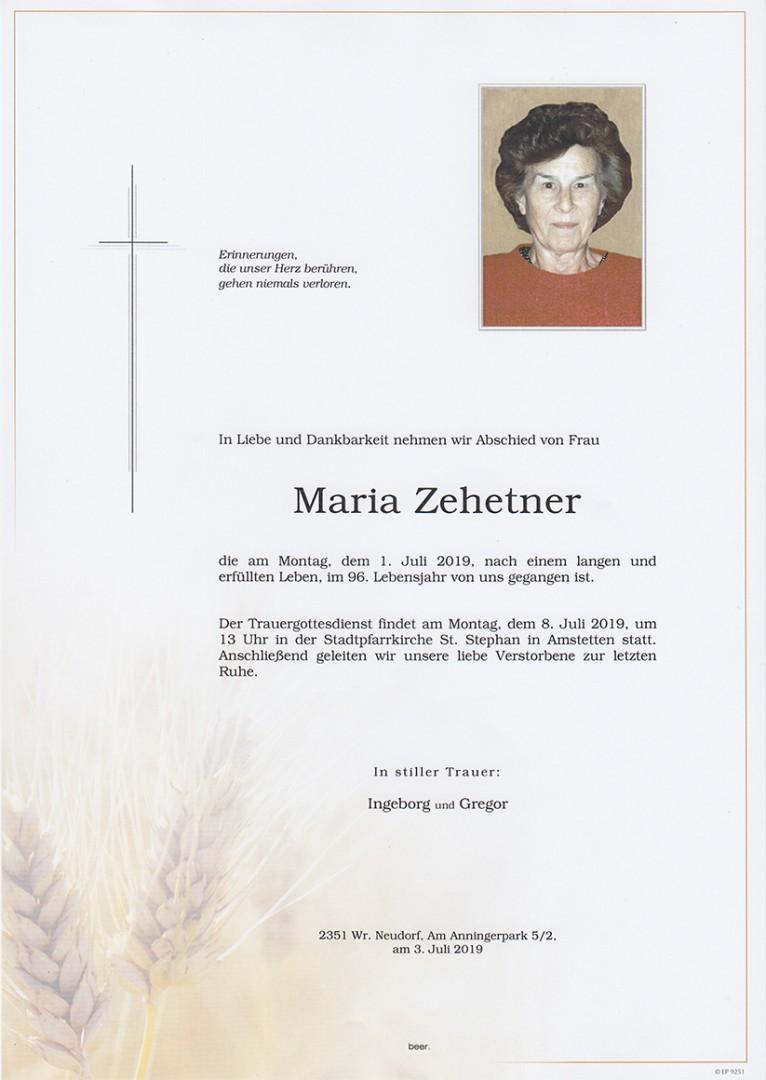Parte Maria Zehetner