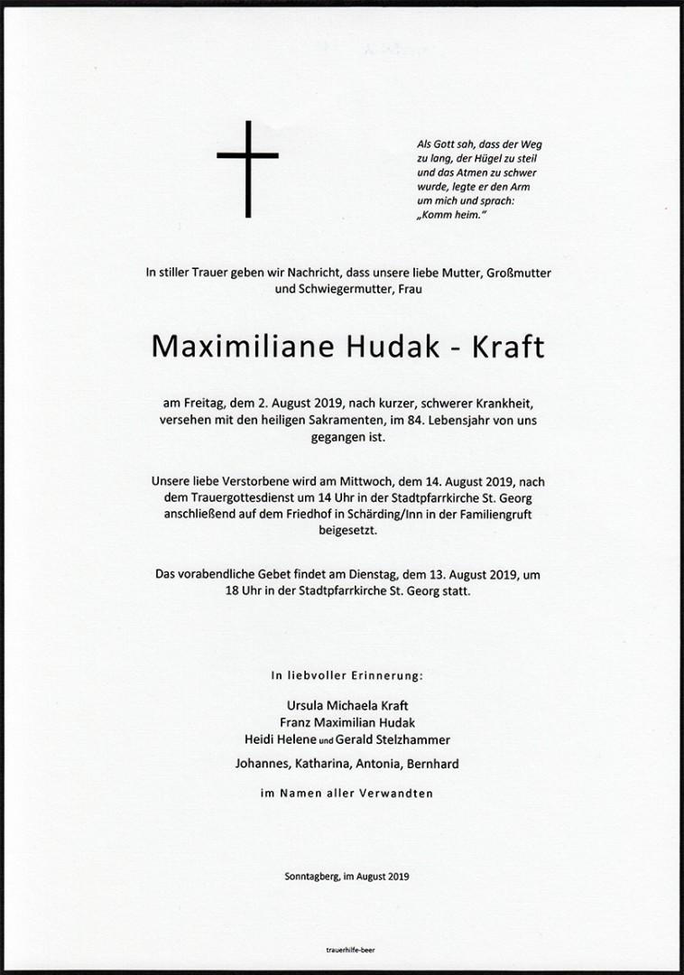 Parte Maximiliane Hudak-Kraft