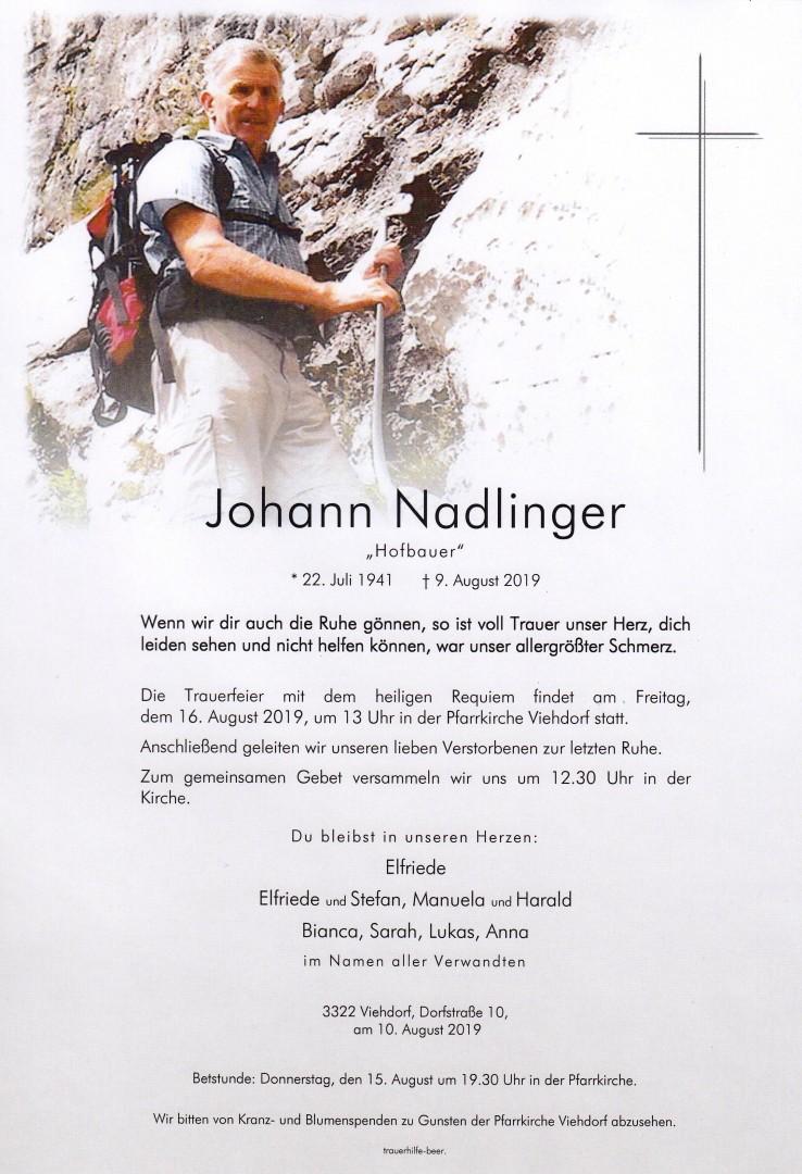 Parte Johann Nadlinger