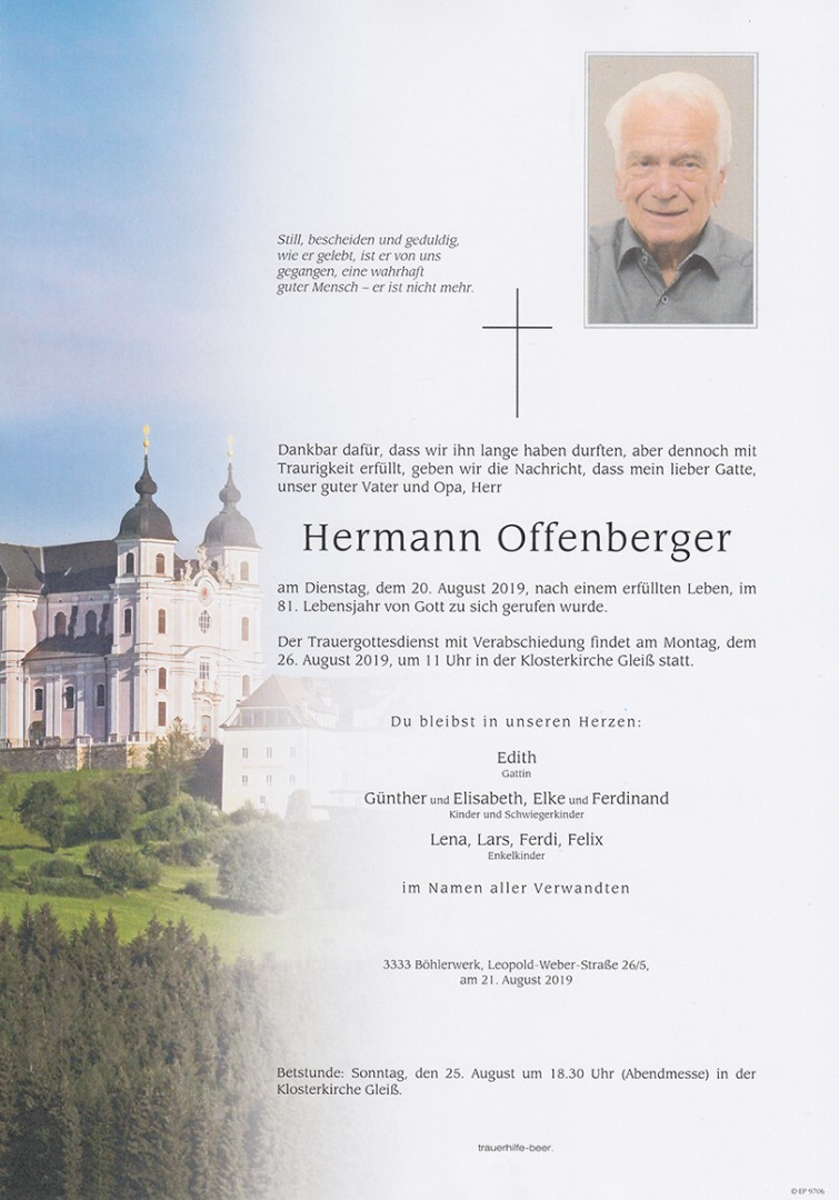Parte Hermann Offenberger