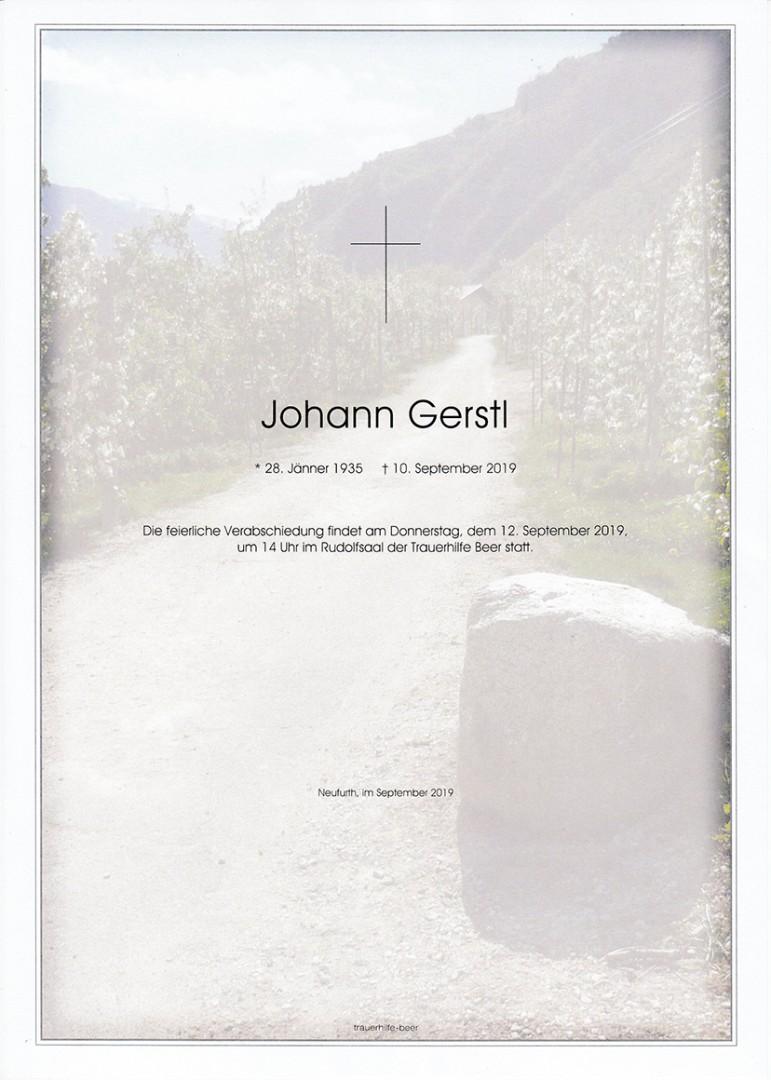 Parte Johann Gerstl