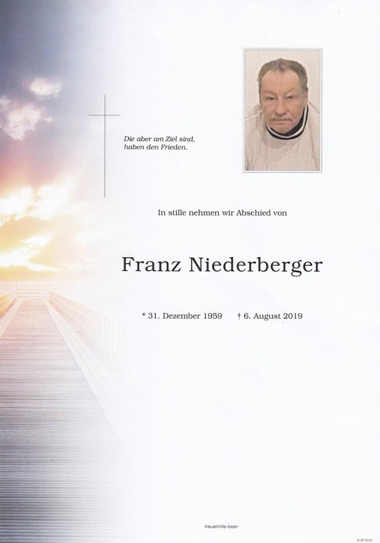 Parte Franz Niederberger