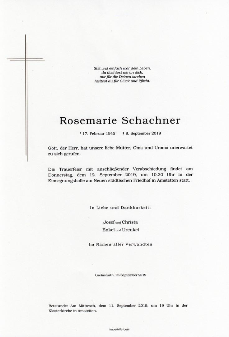 Parte Rosemarie Schachner