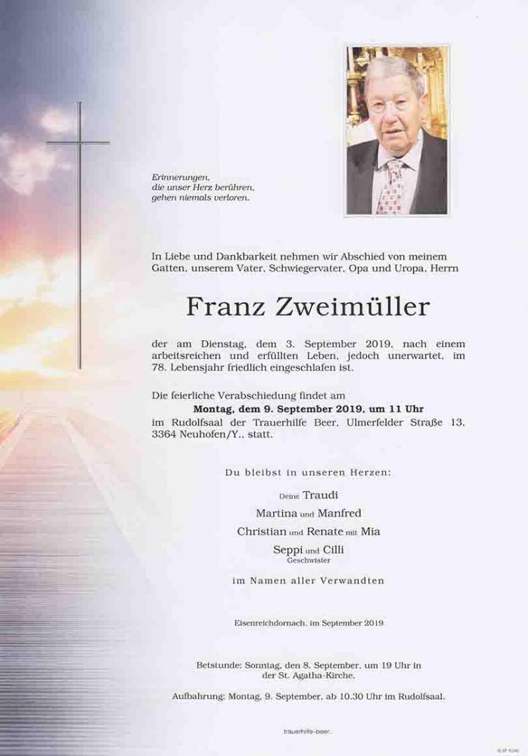 Parte Franz Zweimüller