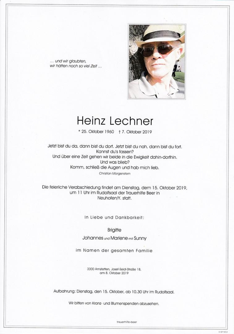 Parte Heinz Lechner