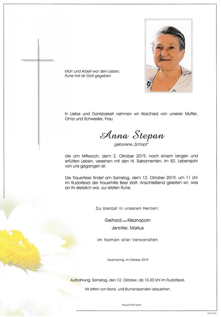 Parte Anna Stepan