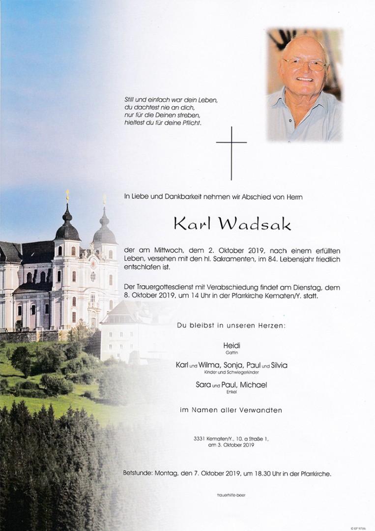 Parte Karl Wadsak