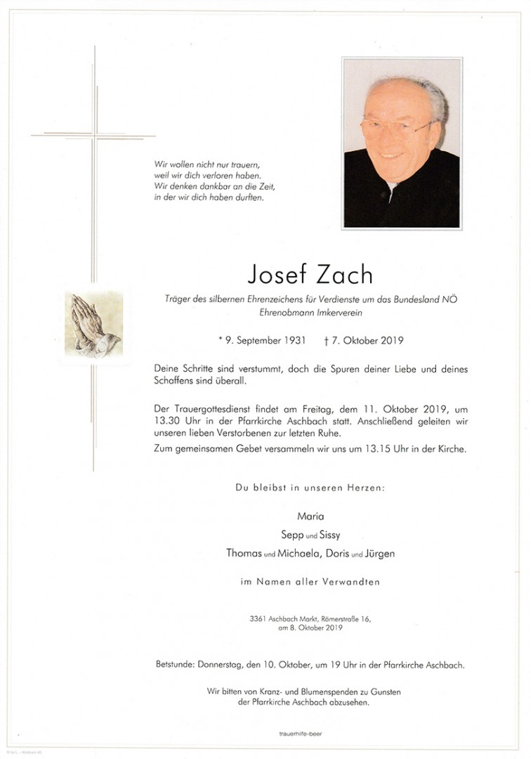 Parte Josef Zach