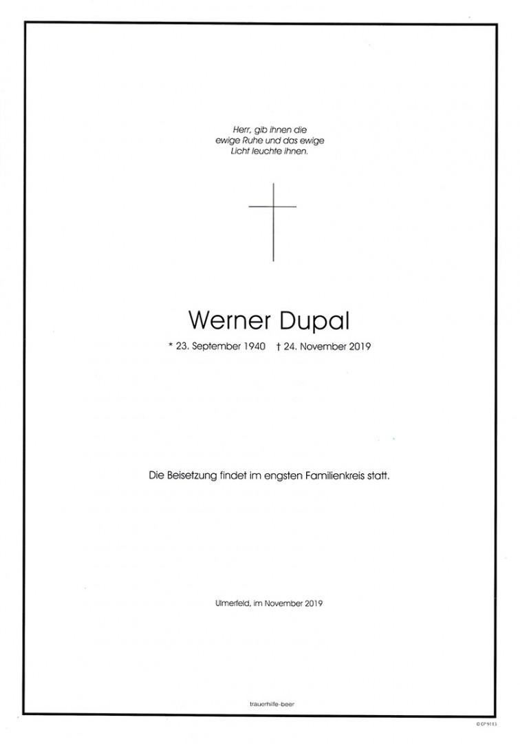 Parte Werner Dupal
