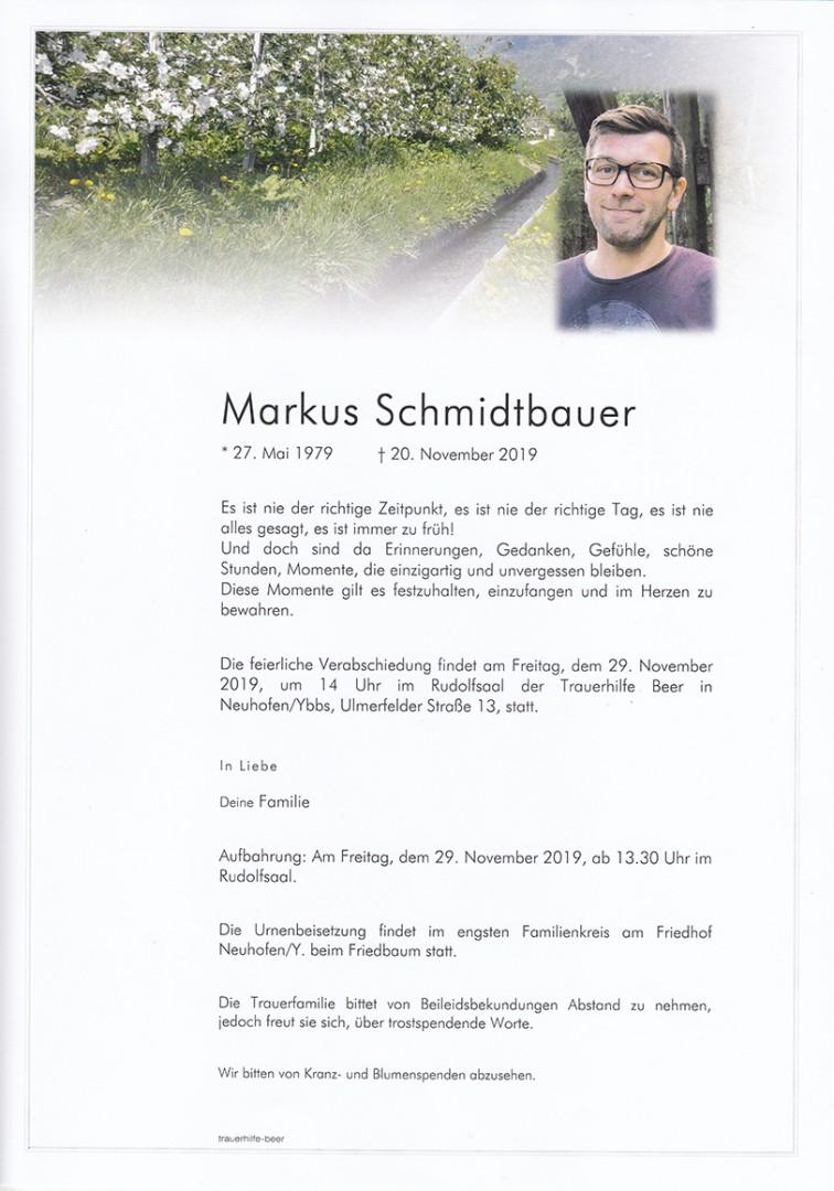 Parte Markus Schmidtbauer
