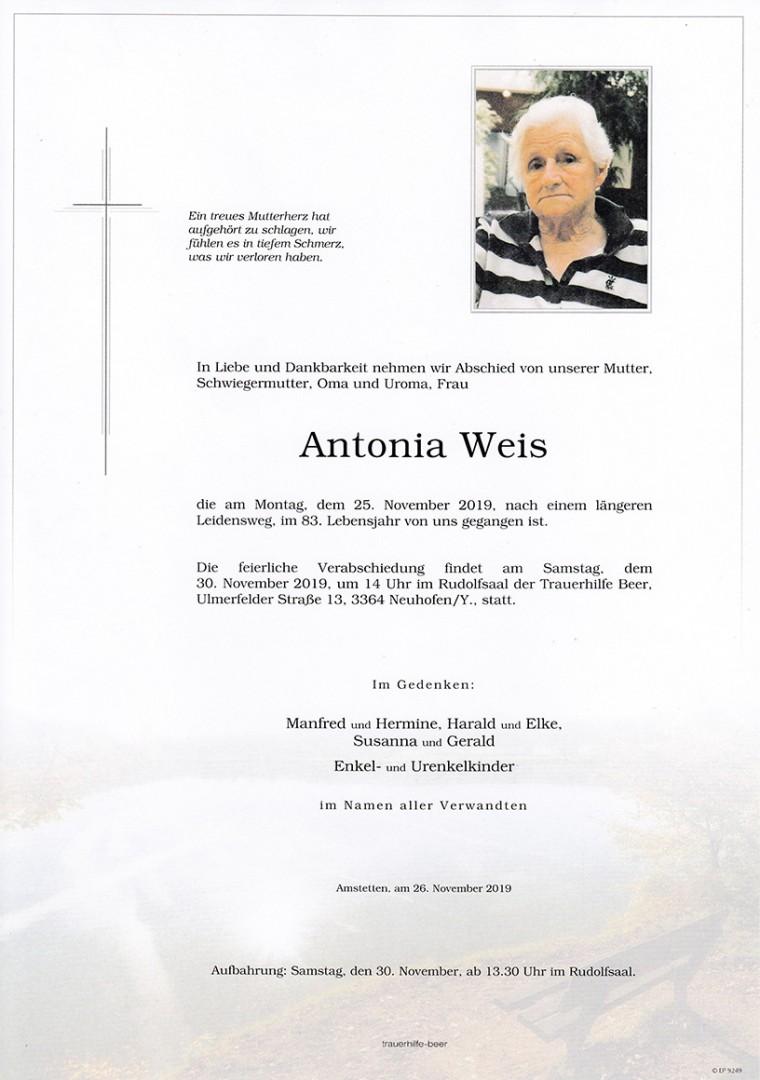 Parte Antonia Weis