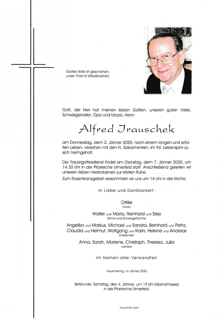 Parte Alfred Irauschek