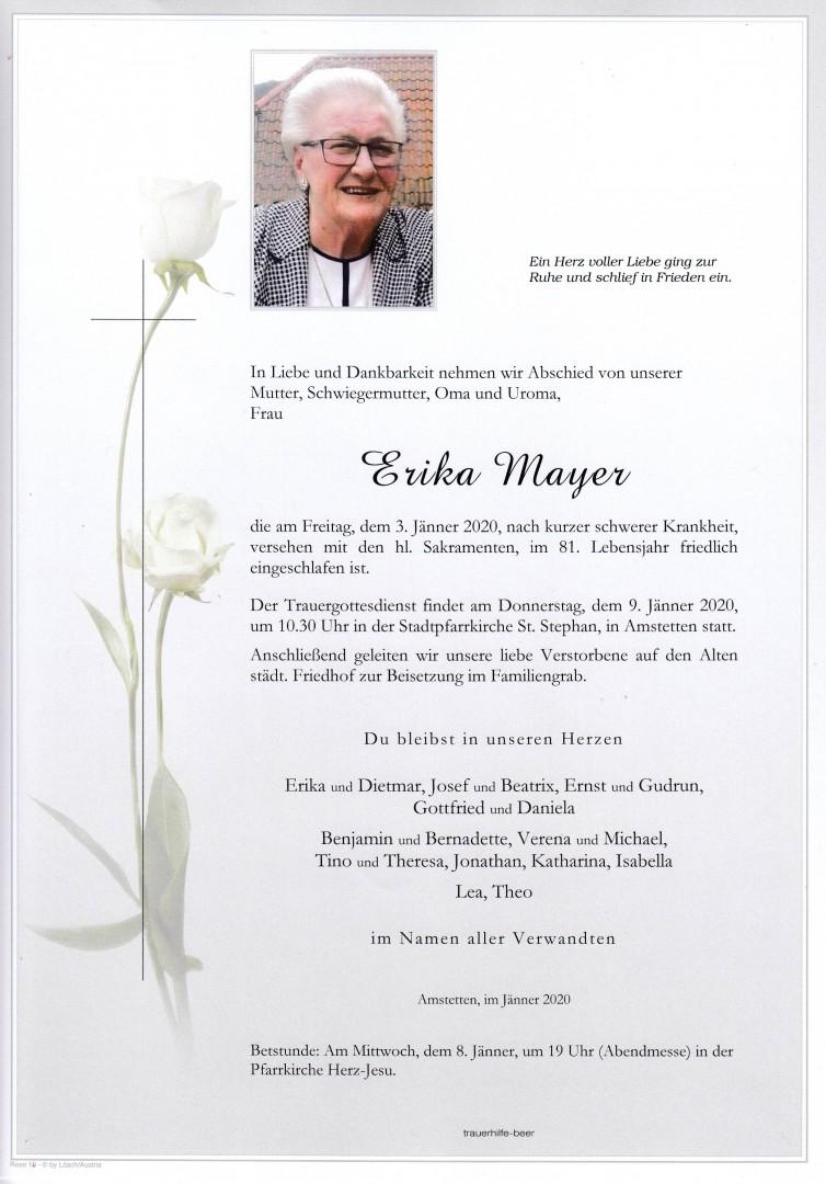Parte Erika Mayer