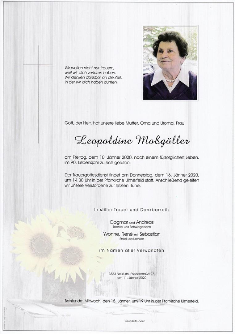 Parte Leopoldine Moßgöller