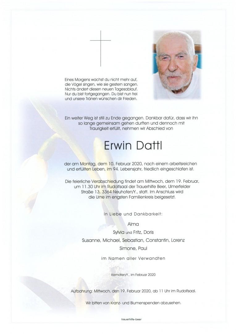 Parte Erwin Dattl