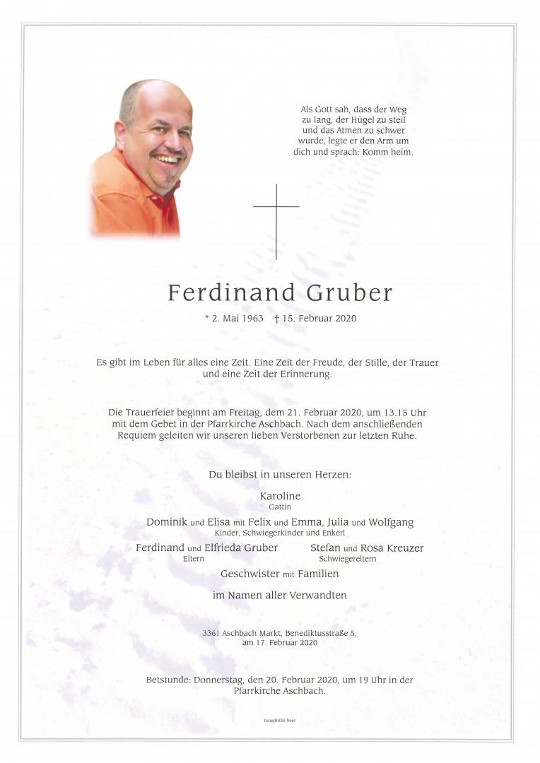 Parte Ferdinand Gruber