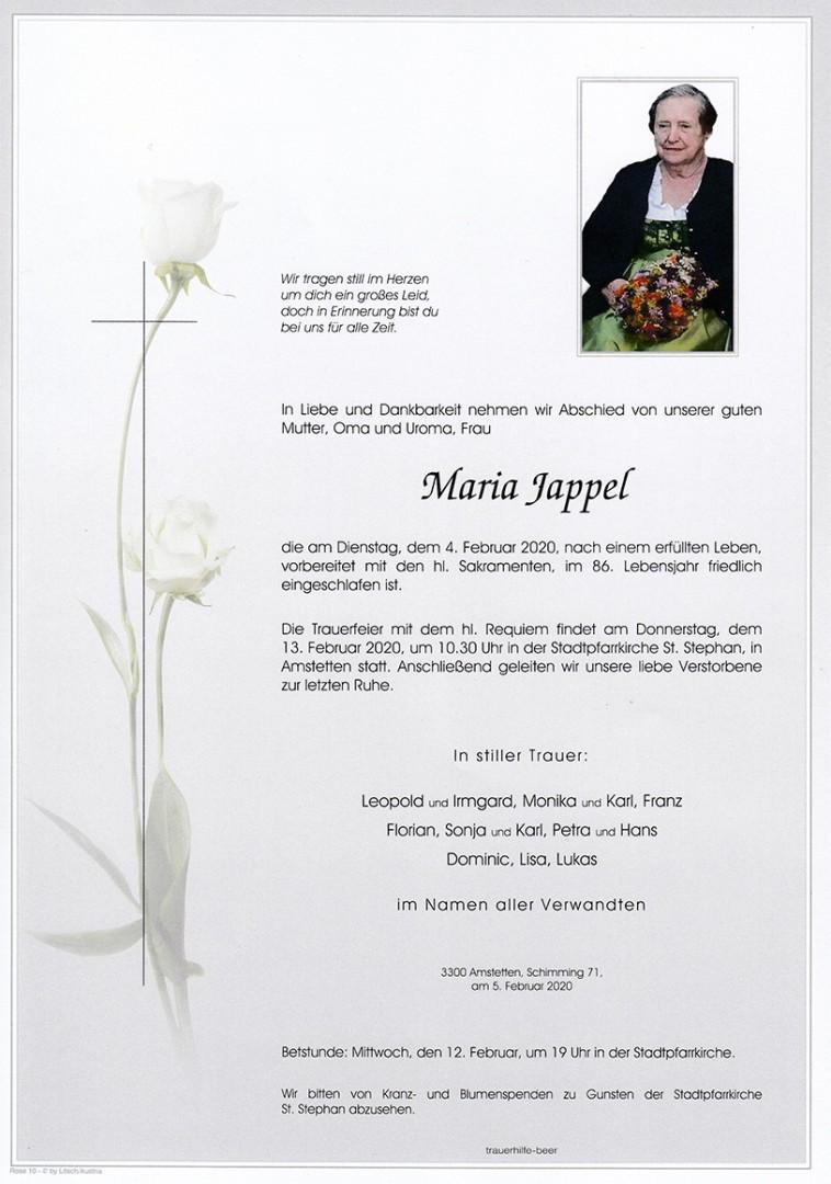 Parte Maria Jappel