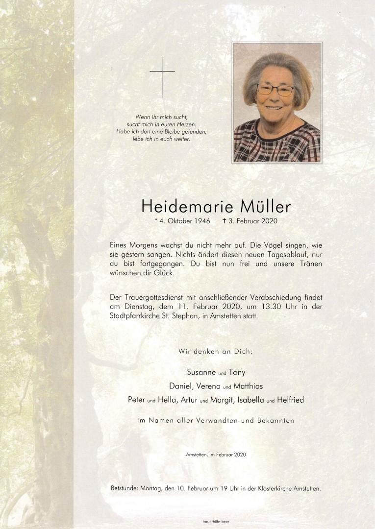 Parte Heidemarie Müller