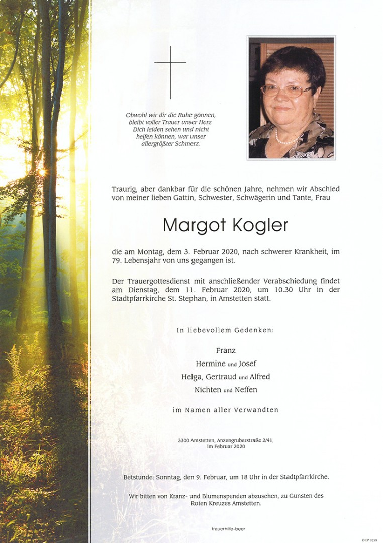 Parte Margot Kogler