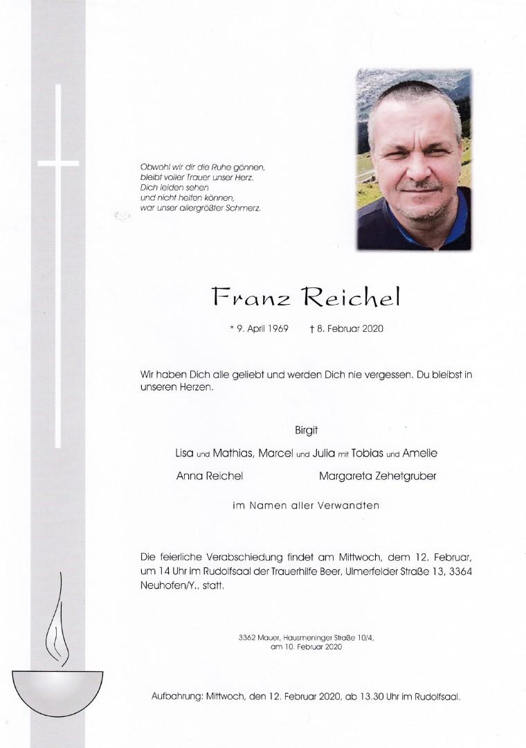 Parte Franz Reichel