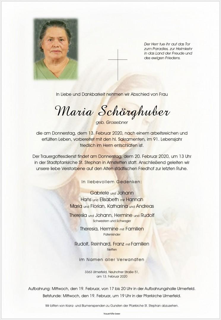 Parte Maria Schörghuber