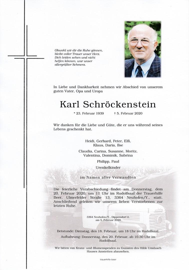 Parte Karl Schröckenstein