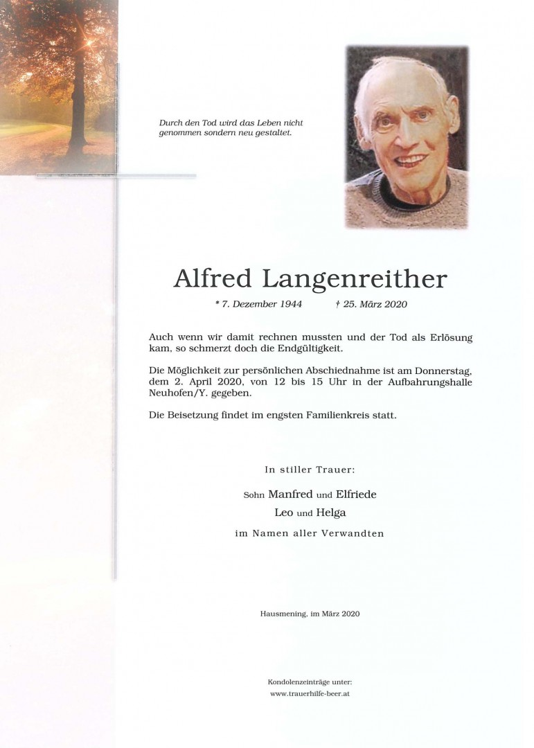 Parte Alfred Langenreither