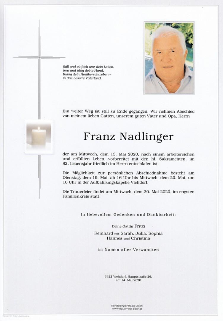 Parte Franz Nadlinger